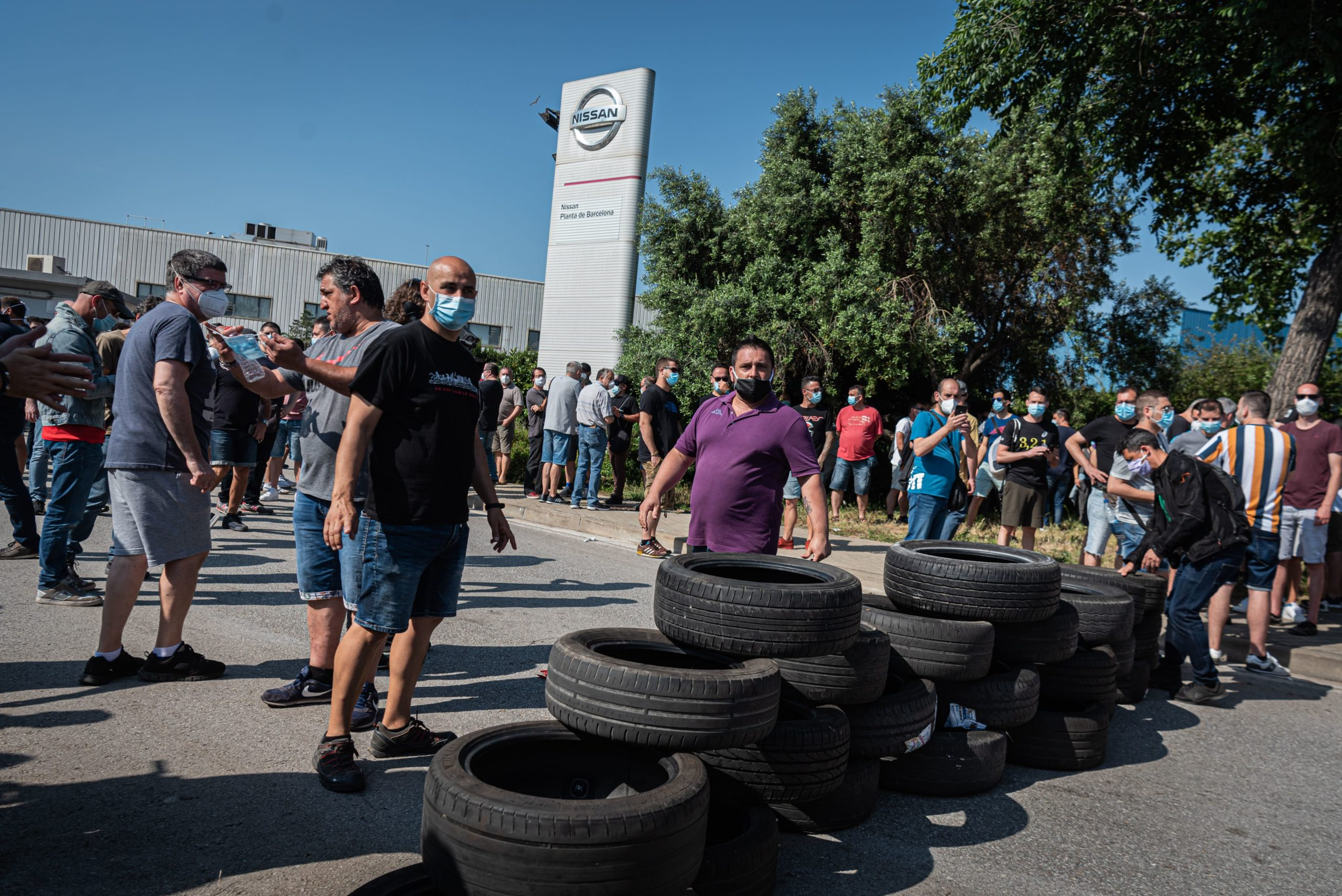 press,photo,photojournalism,photography,crisis,spain,catalonia,nissan,industry,economy,car,unemployment